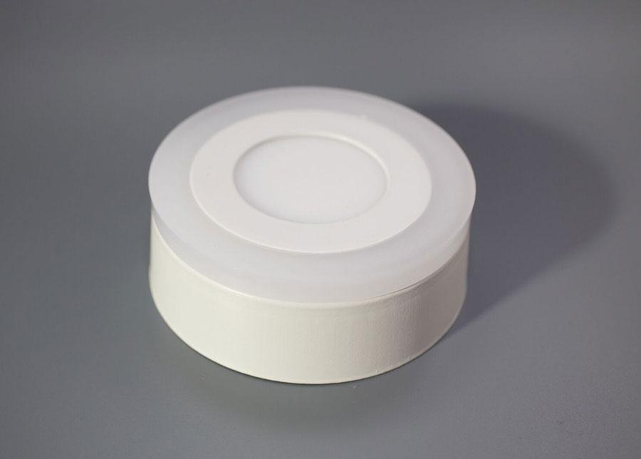 Elektrowerk Pintapuolinen paneelivalaisin 3+3 W, Ø10,5 cm