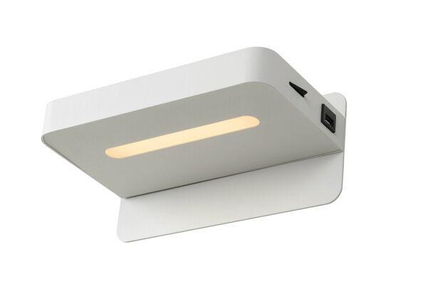 Lucide Seinävalaisin Atkin LED + USB port
