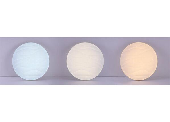 POLUX Kattoplafondi Desert LED 36 W + kaukosäädin