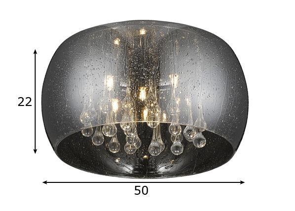Zumaline Kattovalaisin RAIN Ø50 cm