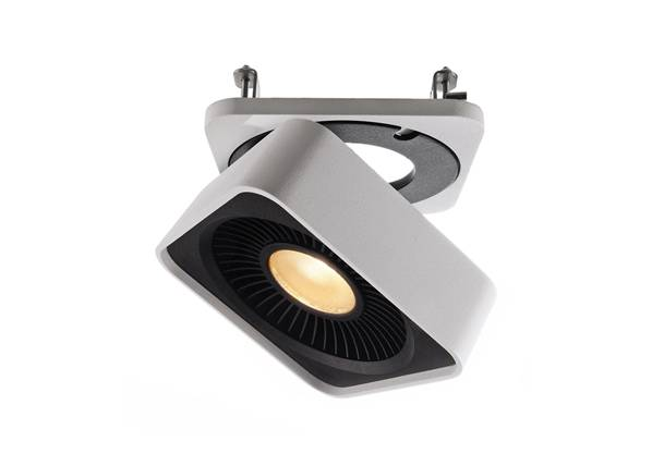 Deko-Light Suunnattava kattovalaisin BLACK & WHITE LED