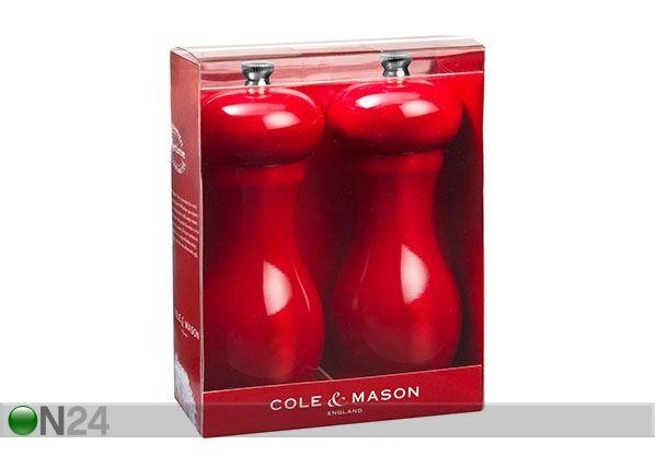 Cole and Mason Suola- ja pipurimylly RED OXFORD