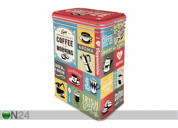 Image of ART Peltipurkki COFFEE COLLAGE 1,3 L