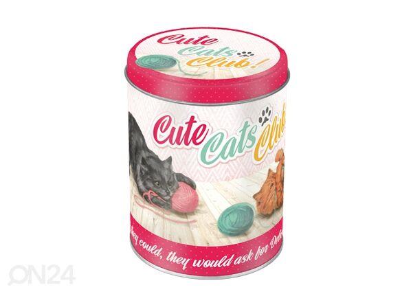 ART Peltipurkki CUTE CATS CLUB 1 L