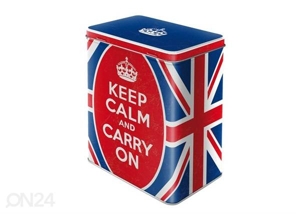 Image of ART Peltipurkki KEEP CALM AND CARRY ON 3 L