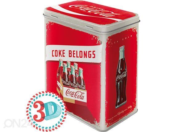 Image of ART Peltipurkki COCA-COLA COKE BELONGS 3 L