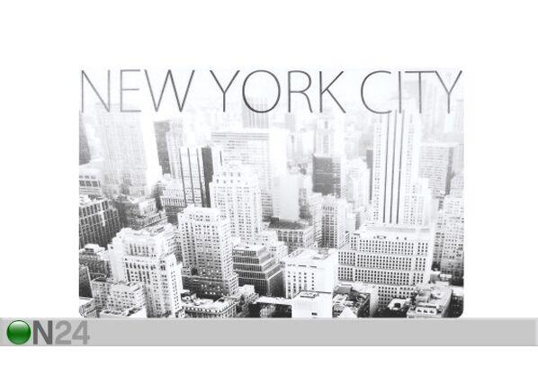 L3C Lautasen alusta NEW YORK CITY 4 kpl