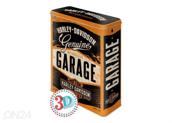 Image of ART Peltipurkki 3D Harley-Davidson Garage 4 L