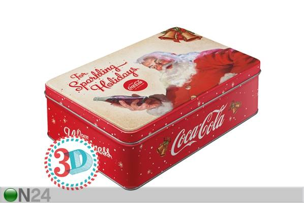 Image of ART Peltipurkki 3D COCA-COLA FOR SPARKLING HOLIDAYS 2,5L