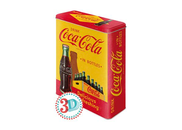 Image of ART Peltipurkki COCA-COLA IN BOTTLES 4 L