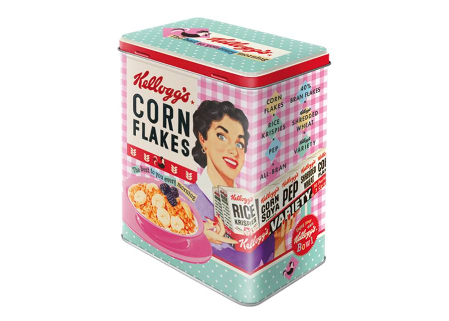 Image of ART Peltipurkki Kellogg's Corn Flakes The best to you every morning 3 L