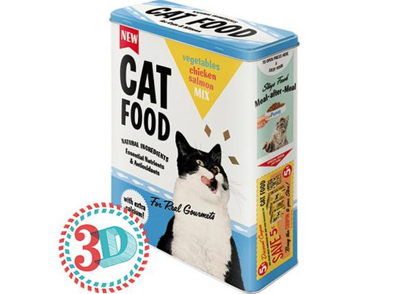 Image of ART Peltipurkki 3D CAT FOOD 4 L