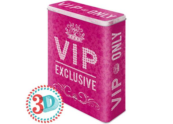 Image of ART Peltipurkki 3D VIP ONLY PINK 4 L