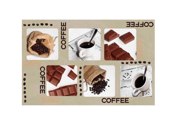 L3C Lautasen alusta COFFEE AND CHOCOLATE 4 kpl