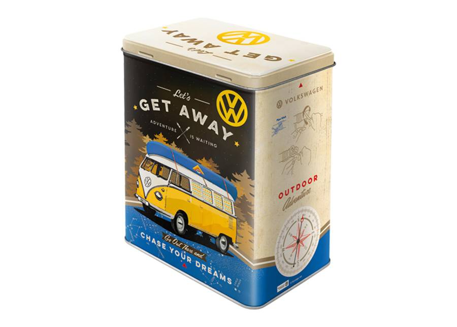 Image of ART Peltipurkki 3D VW Bulli Let's Get Away 3 L