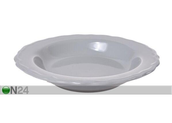 Bradley Keraamiset syvät lautaset JULIA BRADLEY, 6 kpl
