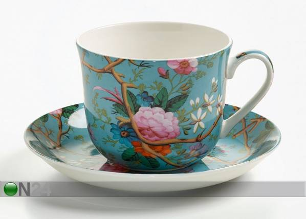 MAXWELL WILLIAMS Kahvikuppi- ja asetti VICTORIAN GARDEN 500 ml