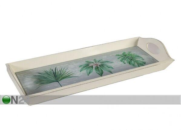 Home4you Tarjotin Palm Leaf