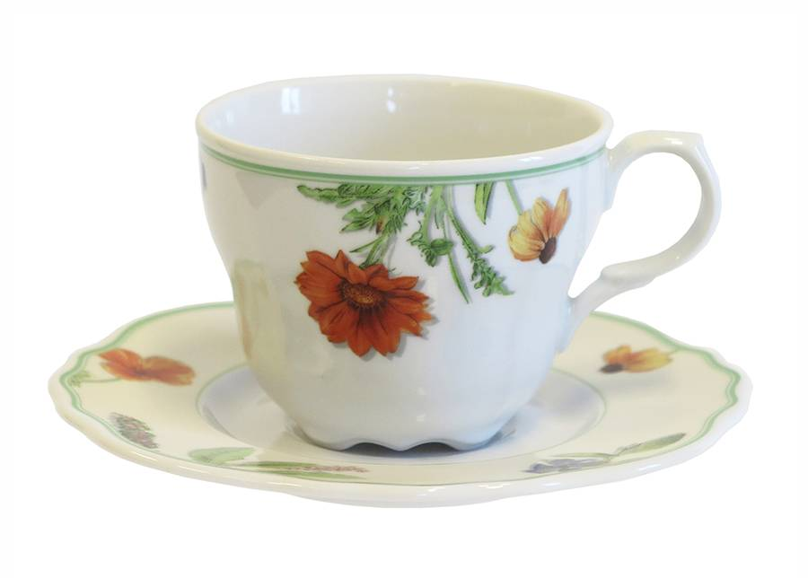 Cmielow Kahvikuppi- ja asetti GLORIA 220 ml, 6 kpl