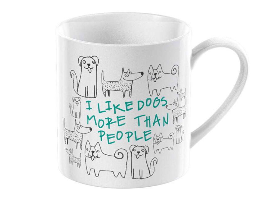 KitchenCraft Muki I like dogs 300 ml