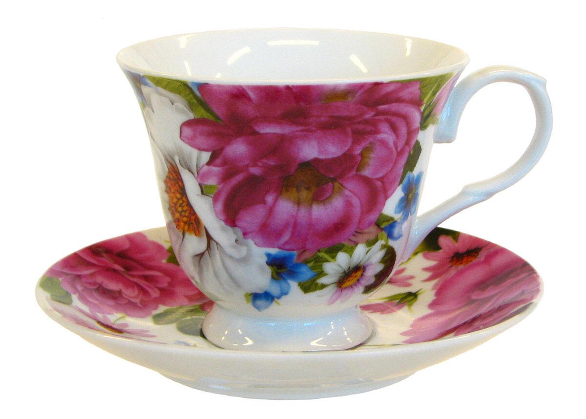 ASI Collektion Kahvikuppi ja lautanen RUUSUNMARJA 150 ml, 6 kpl