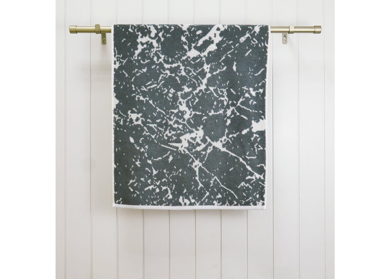 ARDENZA Froteepyyhe Marble, harmaa 48x90 cm