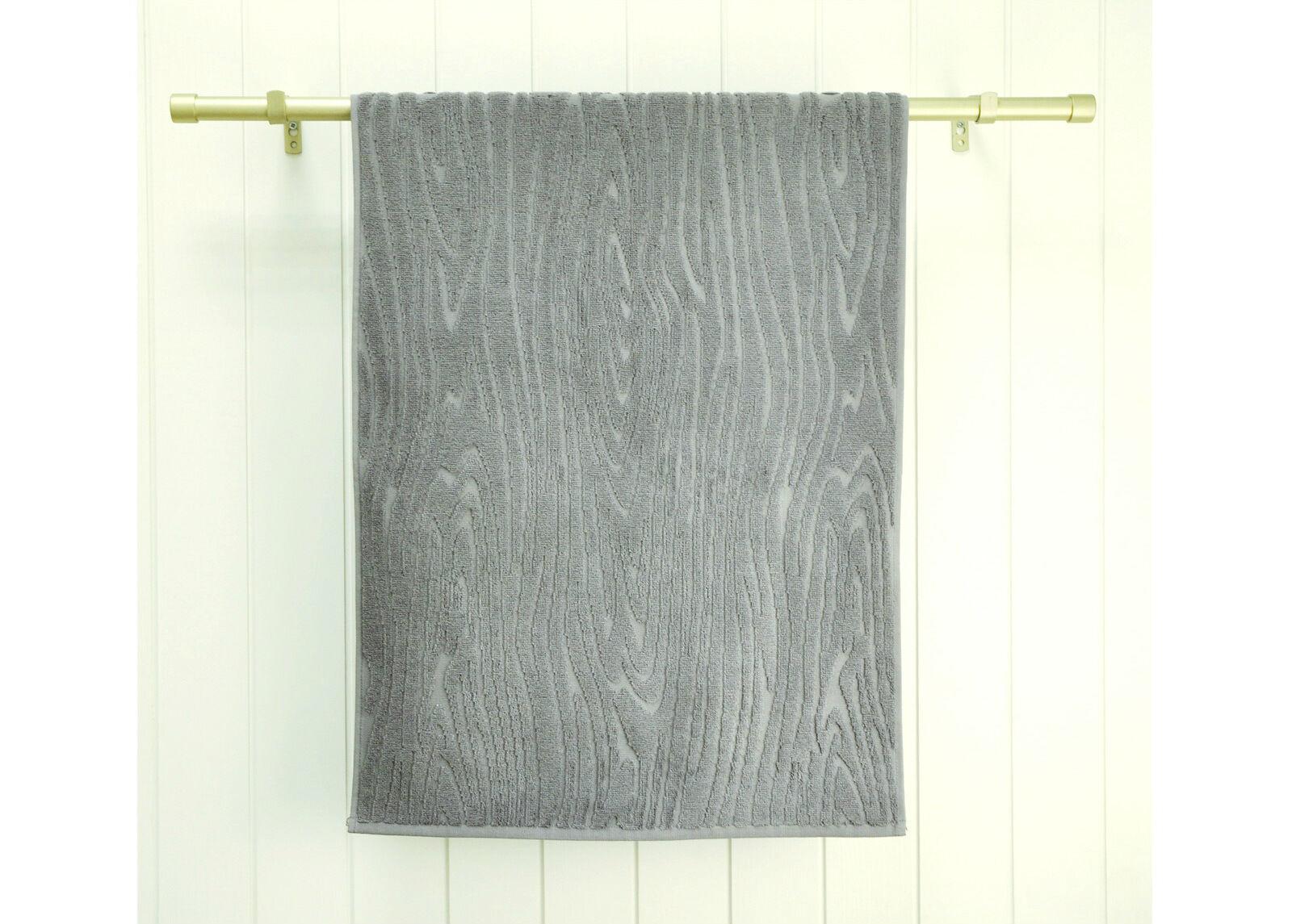 ARDENZA Froteepyyhe Wood, harmaa 70x140 cm