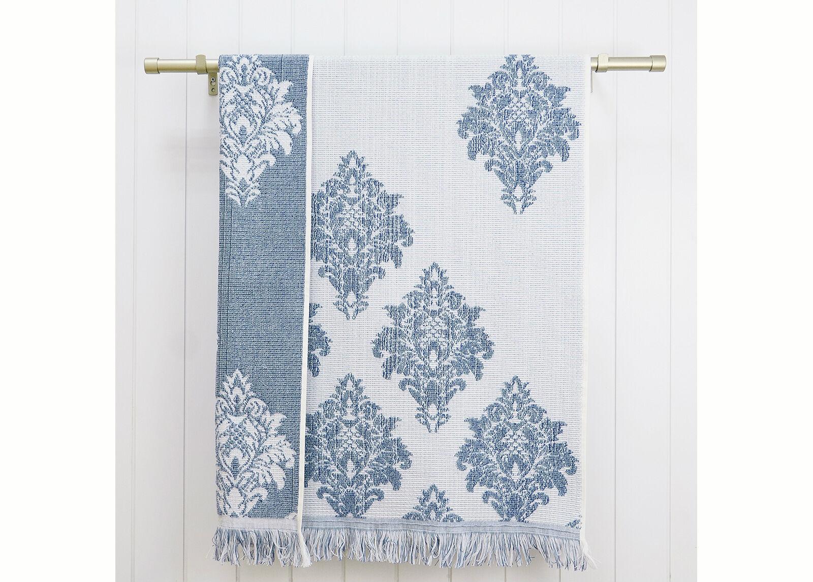 ARDENZA Froteepyyhe Versailles, sininen 70x140 cm
