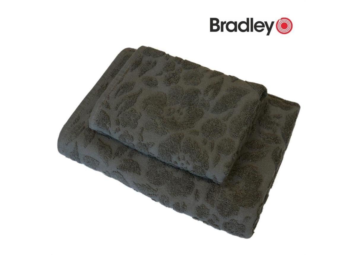 Image of Bradley Froteepyyhke 50x70 cm kuvioitu harmaa