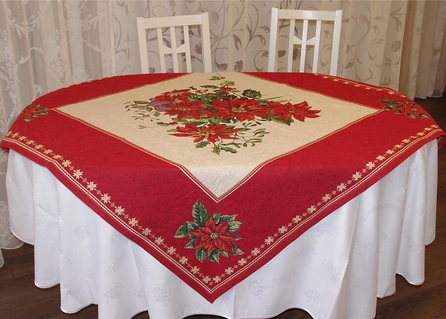 SikSak Gobeliini joululiina ORNAMENT 100x100 cm