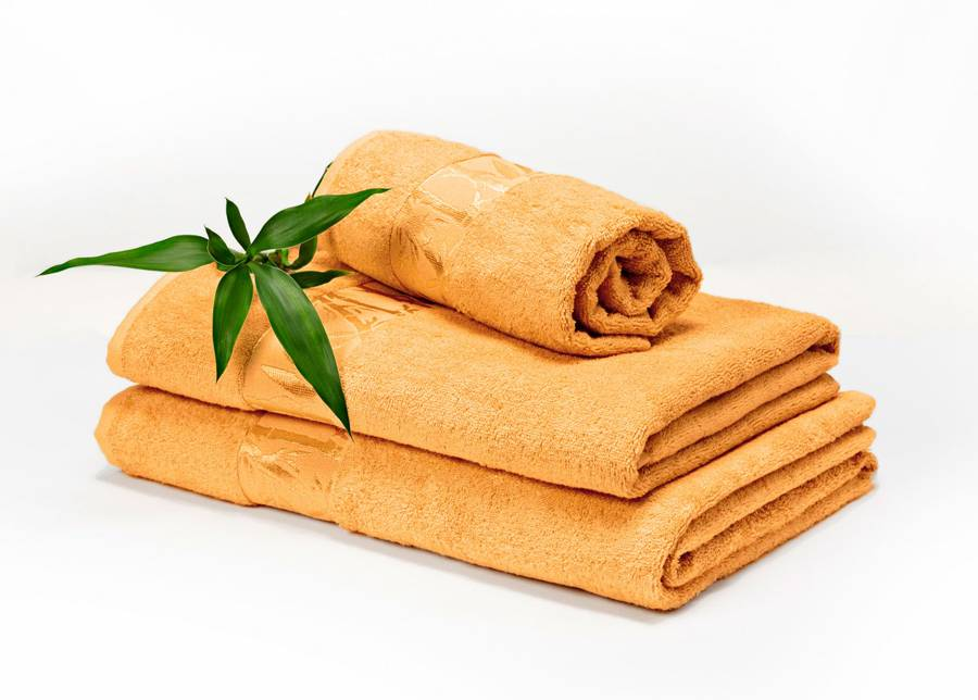 DOSSA Bambu pyyhkeet keltainen