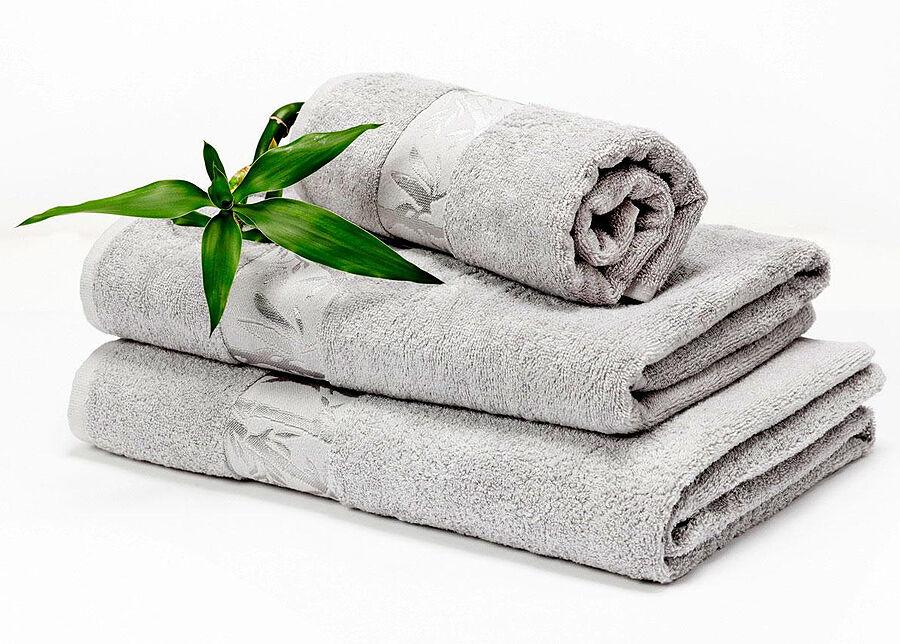 DOSSA Lux Bambu pyyheliinasetti harmaa