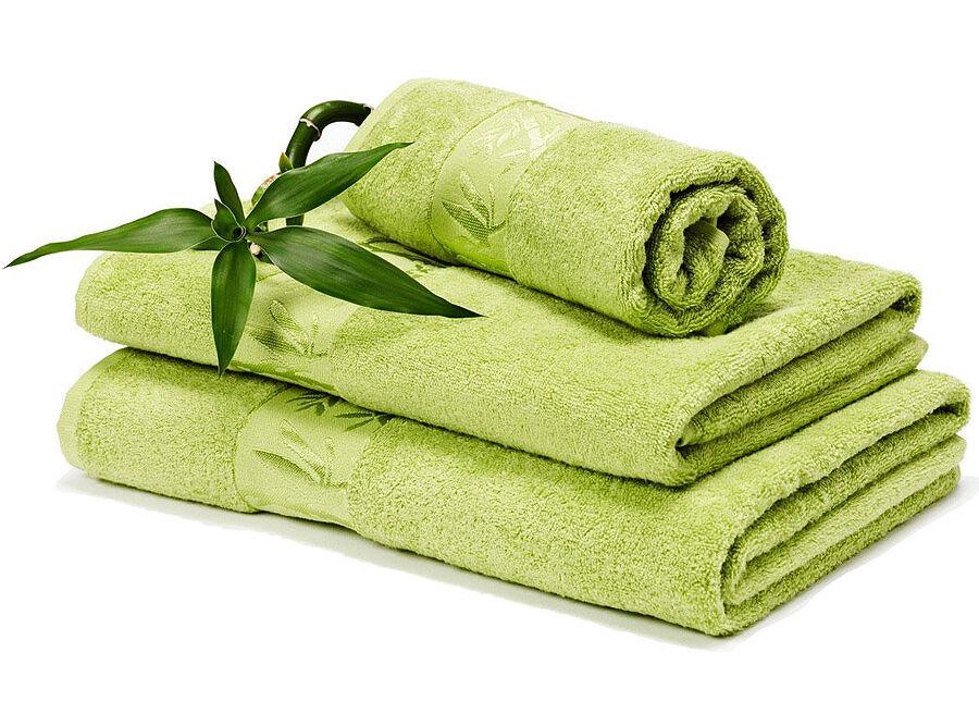 DOSSA Lux Bambu pyyheliinasetti vihreä