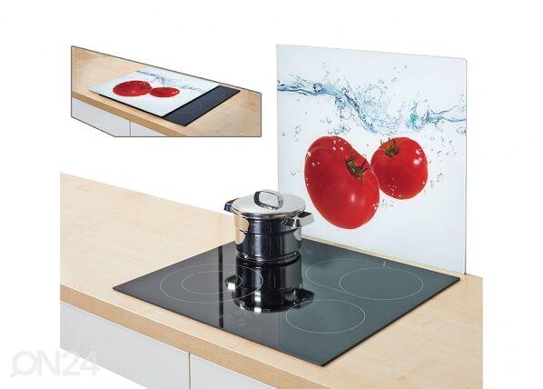 Image of Zeller Present Räiskesuoja/liesisuoja TOMATO SPLASH 56x50 cm