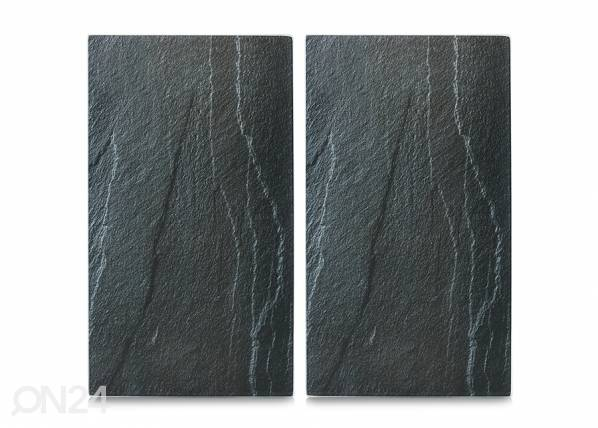 Image of Zeller Present Räiskesuoja/liesisuoja Slate 52x30 cm 2 kpl