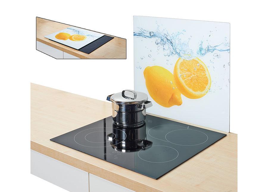 Zeller Present Räiskesuoja/liesisuoja LEMON SPLASH 56x50 cm