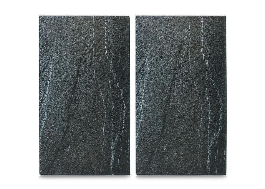 Zeller Present Räiskesuoja/liesisuoja Slate 52x30 cm 2 kpl