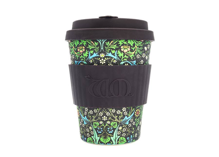 Ecaffee Cup 2 Kahvimuki ECOFFEE CUP WILLIAM MORRIS 340 ml