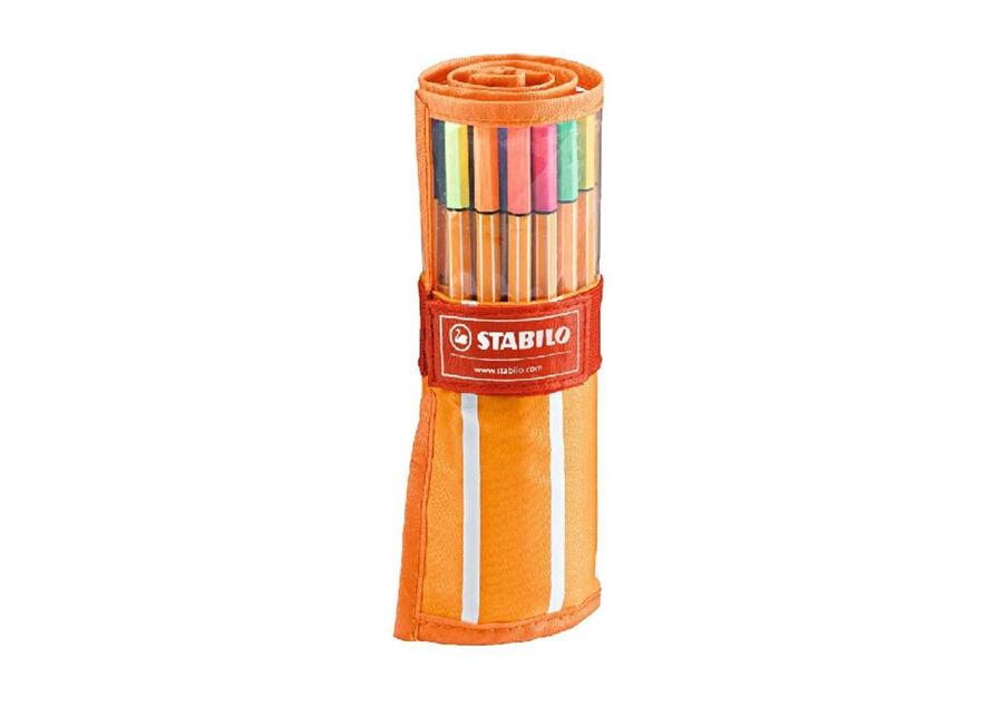 Stabilo Kuitukärkikynät STABILO POINT 88, 30 väriä