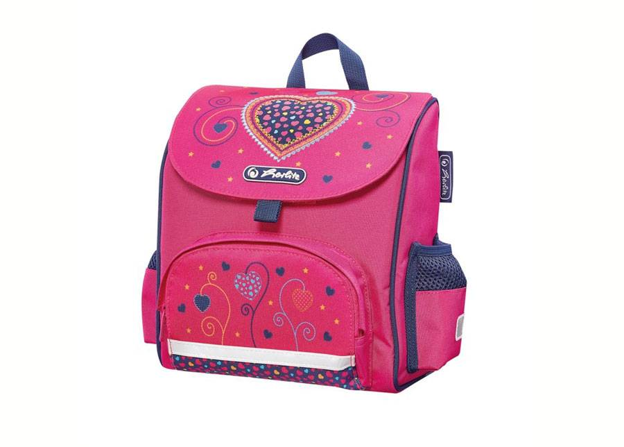 Herlitz Selkäreppu Herlitz Mini softbag Pink Hearts