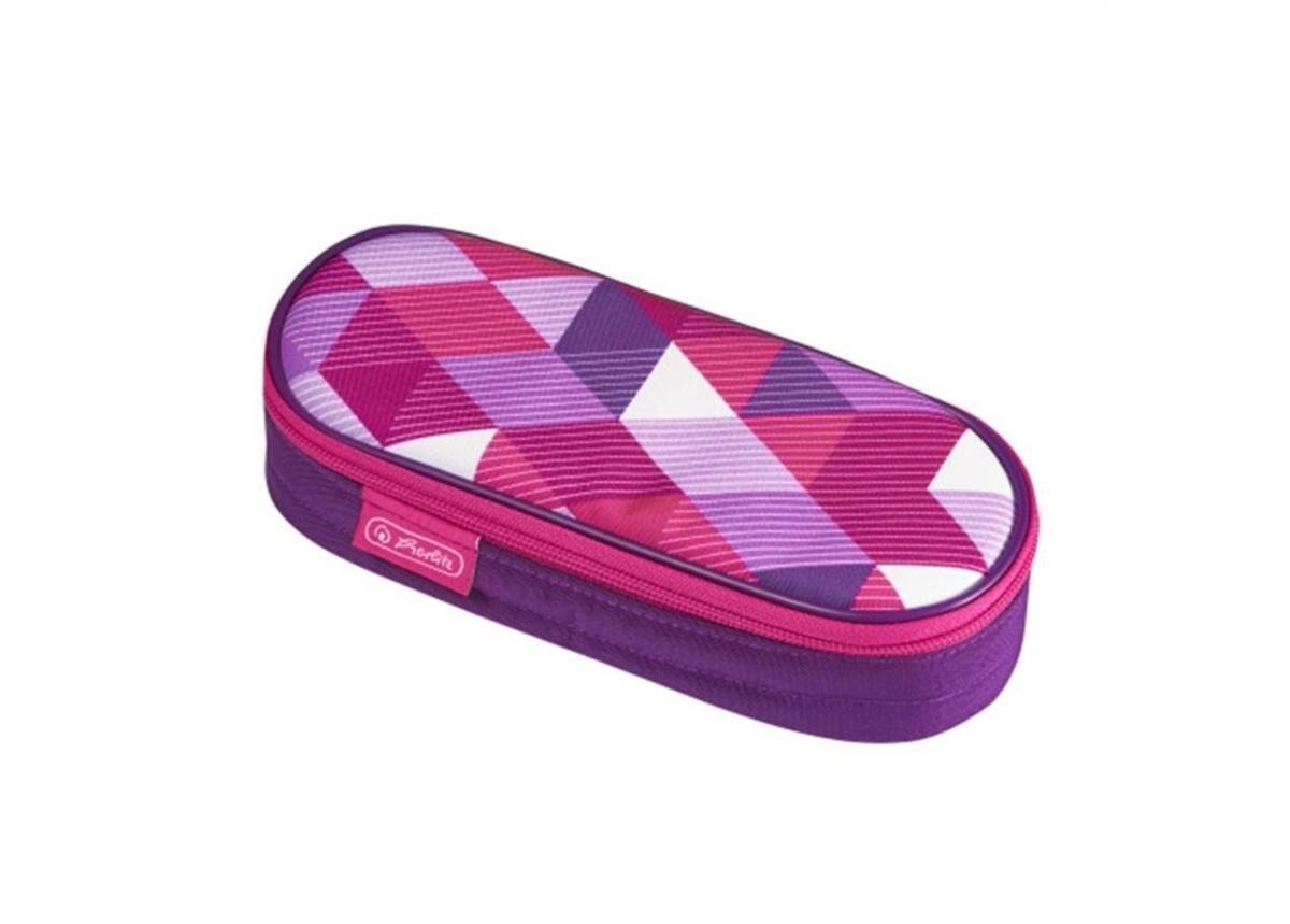 Herlitz Penaali kannella Pink Cubes