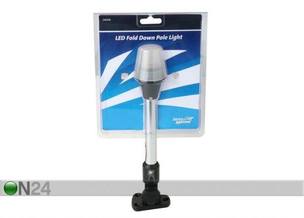 Jarvis Marine Kokoontaitettava 360˚ LED mastotuli
