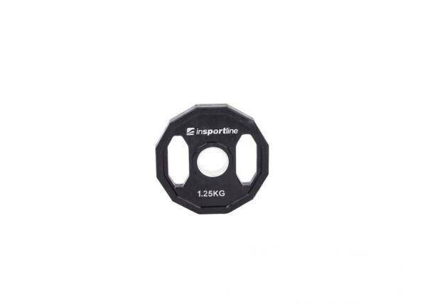 Image of Insportline Levypaino Olympic 50mm inSPORTline Ruberton 1.25kg kumitettu