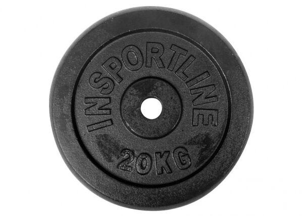 Image of Insportline Levypaino 20 kg inSPORTline teräs