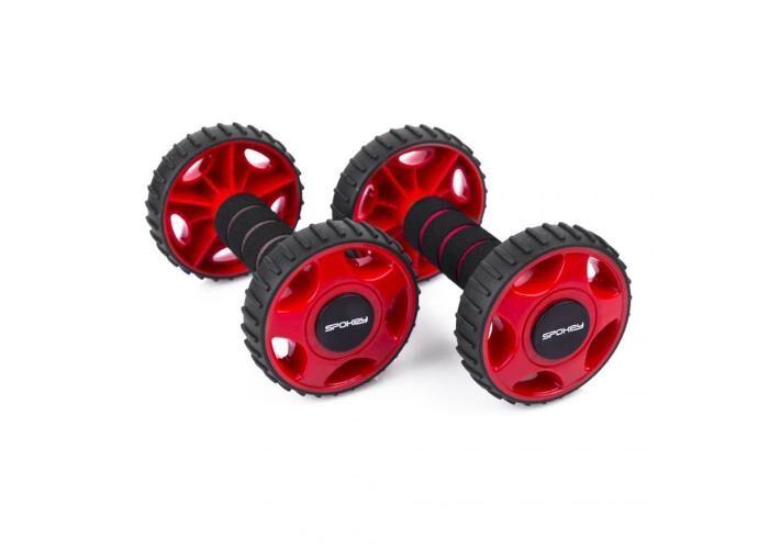 Spokey Voimistelurullat Spokey Double Wheel II