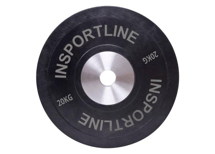 Image of Insportline Levypainopic Bumper Plate 20 kg inSPORTline kumitettu