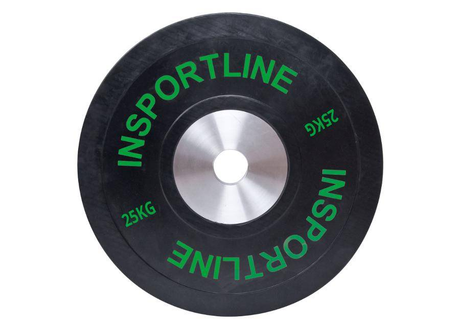 Image of Insportline Levypaino Bumper Plate 25kg inSPORTline kumi