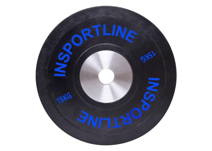 Image of Insportline Levypaino Bumper Plate 15kg inSPORTline kumi