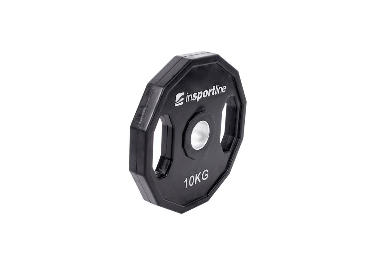 Image of Insportline Levypaino Olympic 50mm inSPORTline Ruberton 10 kg kumitettu