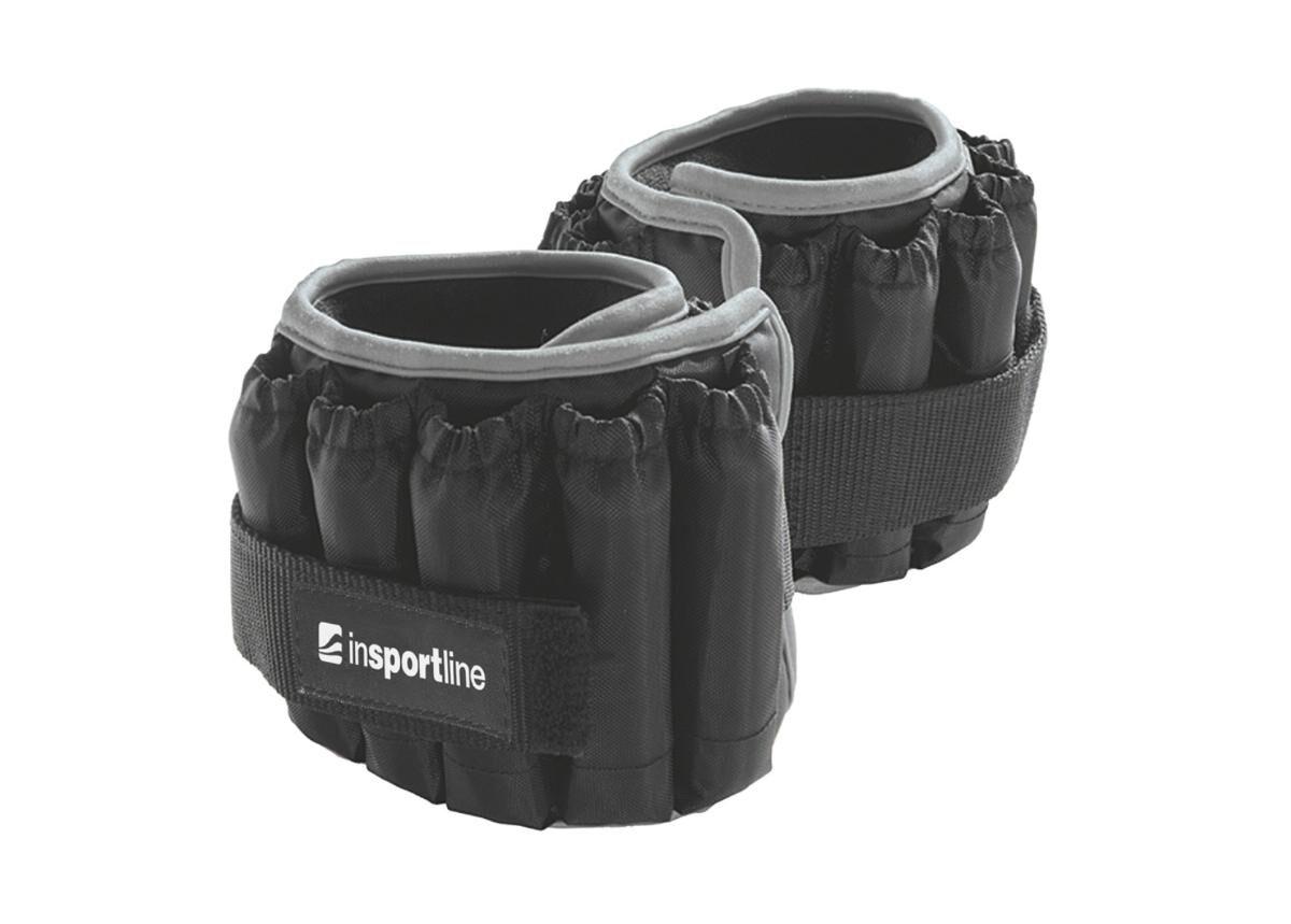 Image of Insportline Säädettävät jalkapainot inSPORTline Ankler X 2x2.25 kg